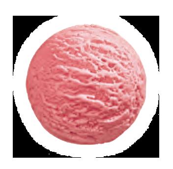 helado fresa