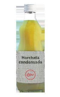 horchata de chufa condensada
