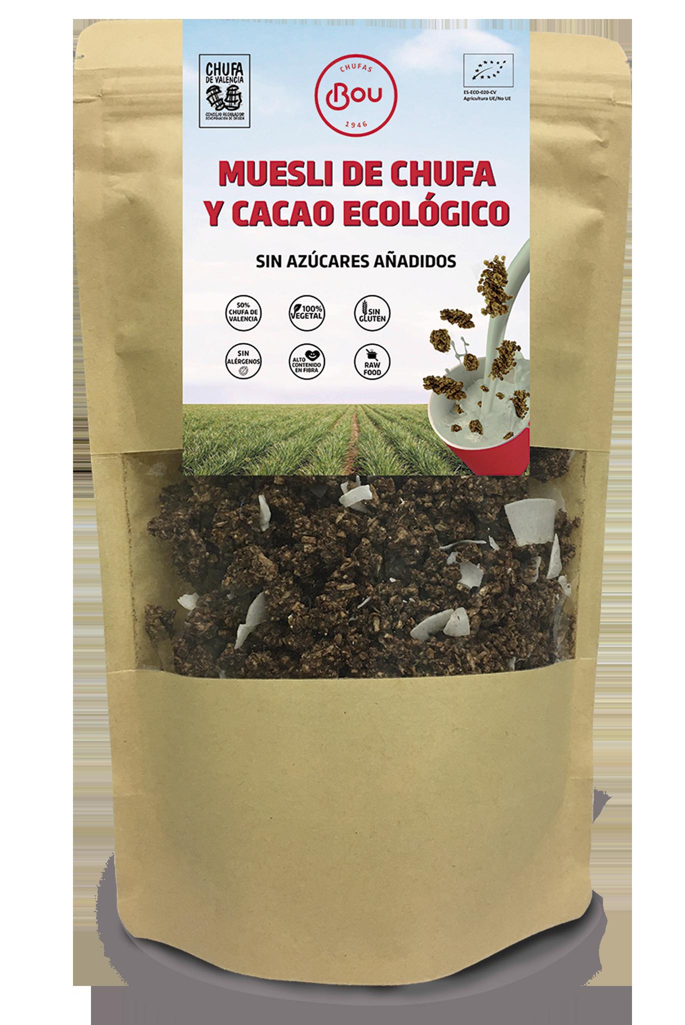 chufa y cacao